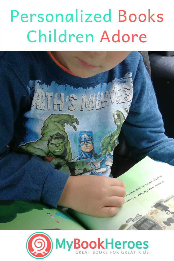 Do your children love being the STAR of their bedtime stories? My son does. That's why I've aligned with My Book Heroes. Make Your Child the Hero of Their Story. #PersonalizedBooksChildren   #MyBookHeroes #Affiliate