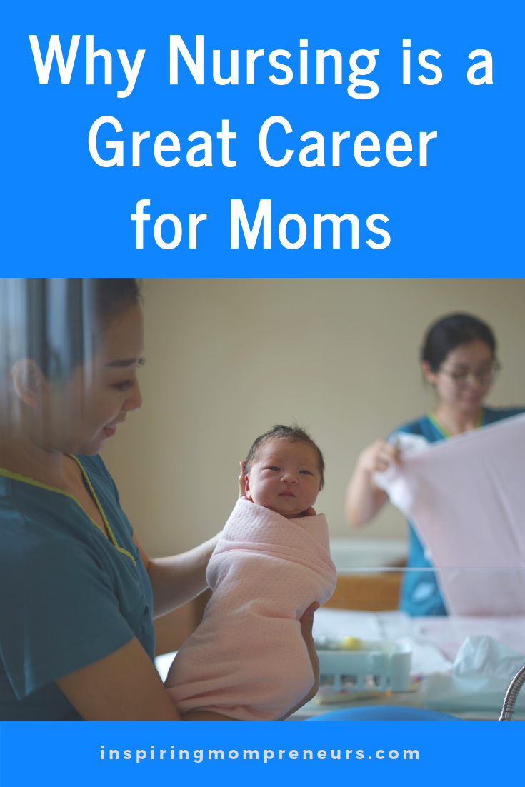 Have you ever considered nursing as a career?  Here are some excellent reasons to go into nursing (or go back to nursing) as a MOM.  WhyNursingisaGreatCareer
