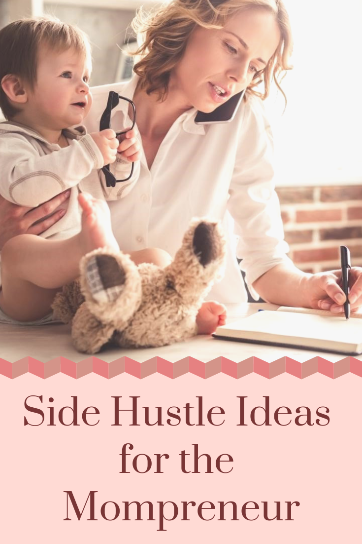 Are you a stay-at-home Mom looking for a side hustle? Brenda Kimble's got some great ideas for you. #SideHustleIdeas #Entrepreneurship