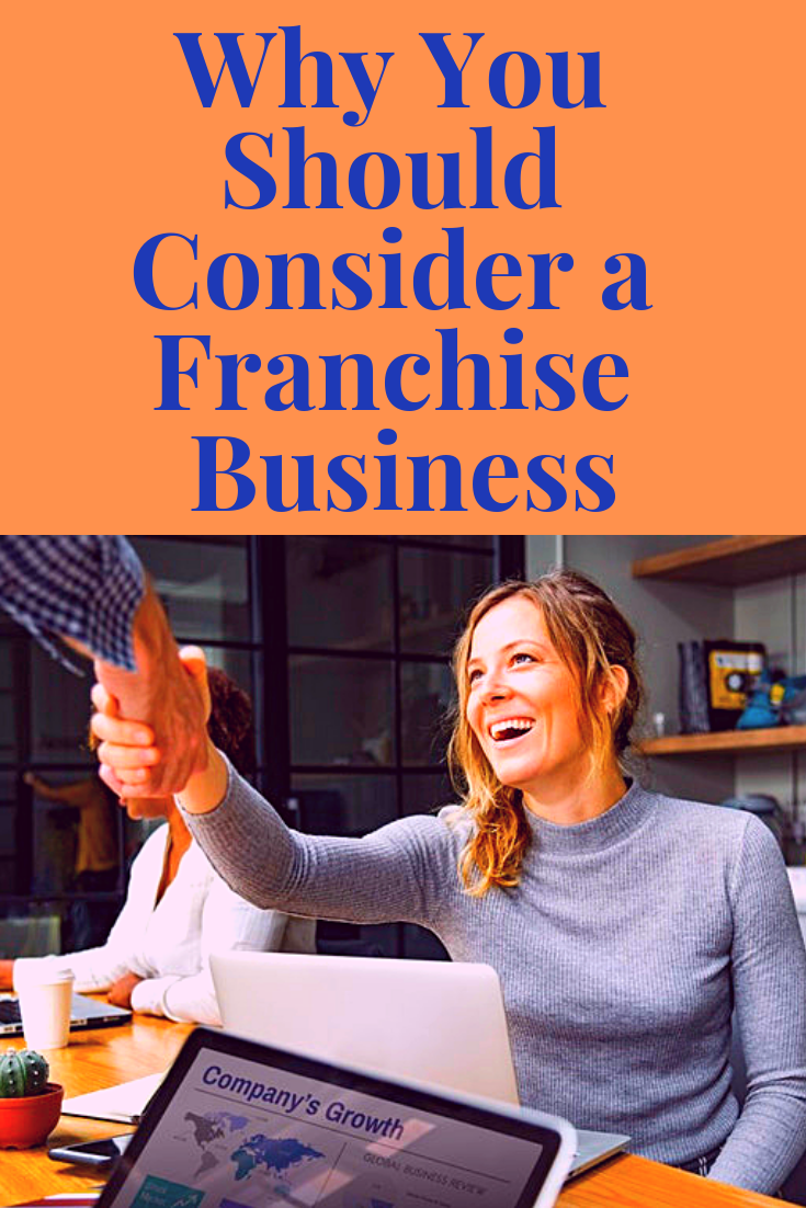 Have you ever considered buying into a franchise?  This post explains why it's such a brilliant idea.  #WhyYouShouldConsideraFranchiseBusiness