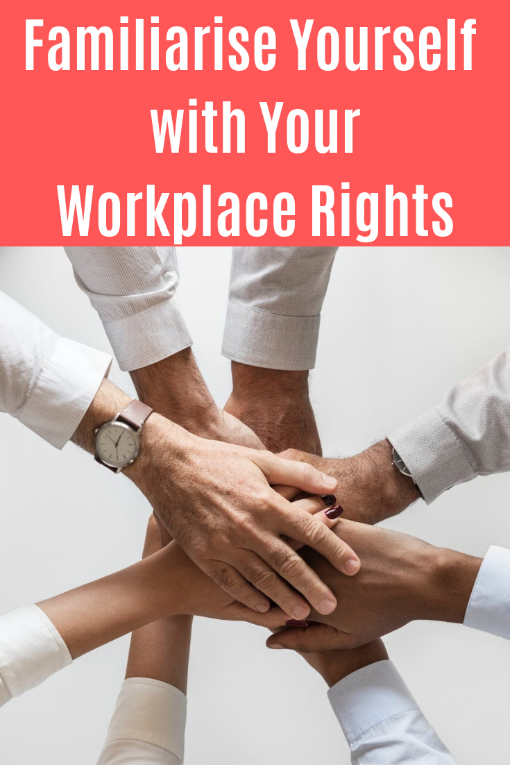Do you know your workplace rights? It's important to keep these ones in mind whether you're an owner or an employee. #workplacerights