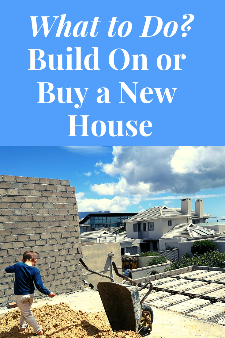 Have you outgrown your existing house? We did. Here's why we chose to build on rather than buy a new house. #buildonorbuyanewhouse #associateshomeloan
