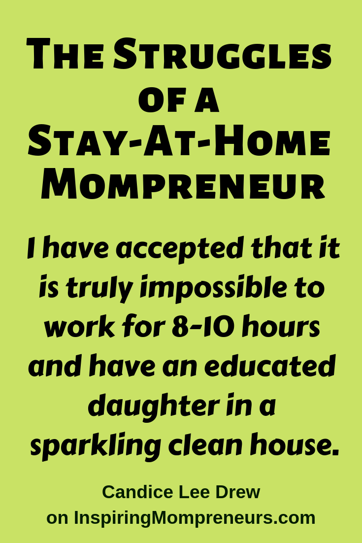 Candice Lee Drew shares her struggles in this honest, relatable post. Candice has 3 niche websites of her own. #WhyIWantToBeAnEntrepreneur #MompreneurStruggles #SAHM #WAHM #HomeschoolingMom