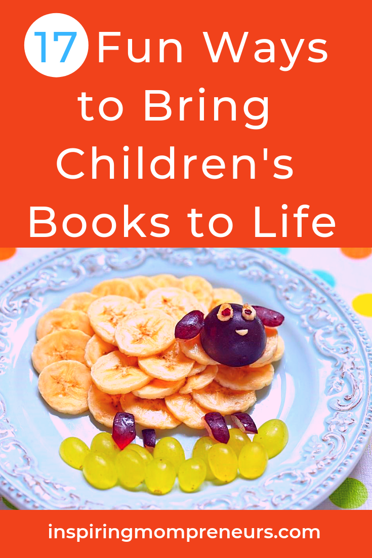 Book Week 2019 is fast approaching. Let's get prepared. Here are 17 creative ways to inspire a love of books and reading for life. #funwaystobringchildrensbookstolife #bookweek2019