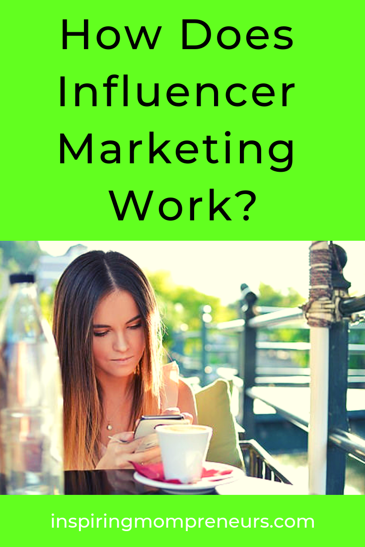 Are you looking for ways to get your brilliant products or services out there? Influencer Marketing may be just the ticket.  Here's how it works.  #HowDoesInfluencerMarketingWork