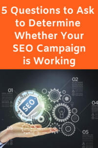 Find out how to tell whether your SEO Campaign is working in this Expert Guest Post by Kerry Harrison #SEOCampaign #DeterminewhetheryourSEOCampaignisworking
