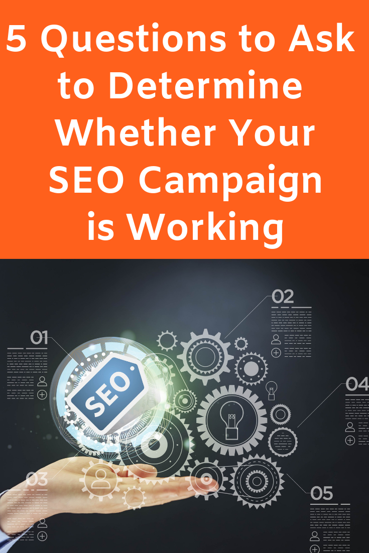 Find out how to tell whether your SEO Campaign is working in this Expert Guest Post by Kerry Harrison #SEOCampaign #SearchEngineOptimization