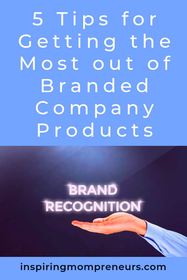 Are you considering a range of branded company products? Here's how to make sure they work for you. #gettingthemostoutofyourbrandedcompanyproducts #branding #marketing #brandedcompanyproducts