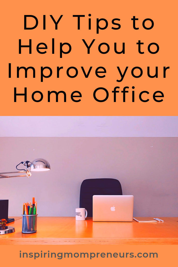 Looking for some ways to spruce up your home office? You've found them. Some great ideas for you in this contributed post. #ImproveYourHomeOffice