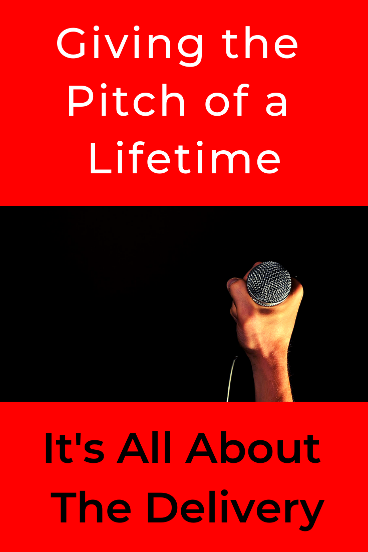For when you want to present something earth-shattering, life-changing.  For when you want to hit it out the park. #GivingthePitchofaLifetime