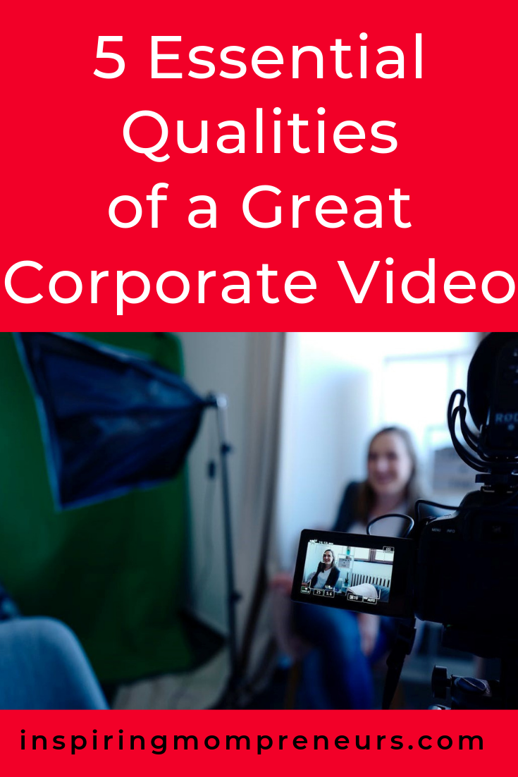 Are you ready to create your first corporate video? Here are some tips to keep in mind.  #QualitiesofaGreatCorporateVideo #DigitalMarketing #BusinessTips
