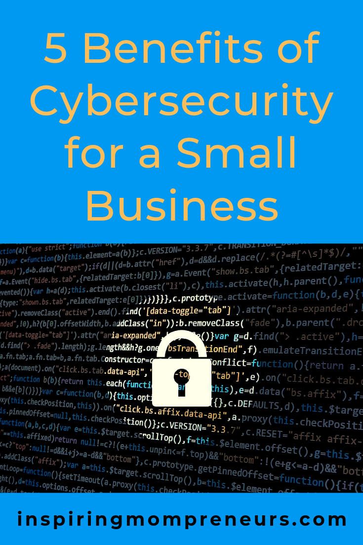 How secure is your business? Cybersecurity has become a crucial element to ensure your business survives long term. #benefitsofcybersecurityforasmallbusiness