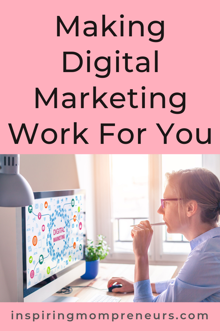 Are you making digital marketing work for you? How's your SEO strategy? Your Content Marketing Strategy? Your social media strategy? Your email marketing strategy? #digitalmarketing #makingdigitalmarketingwork