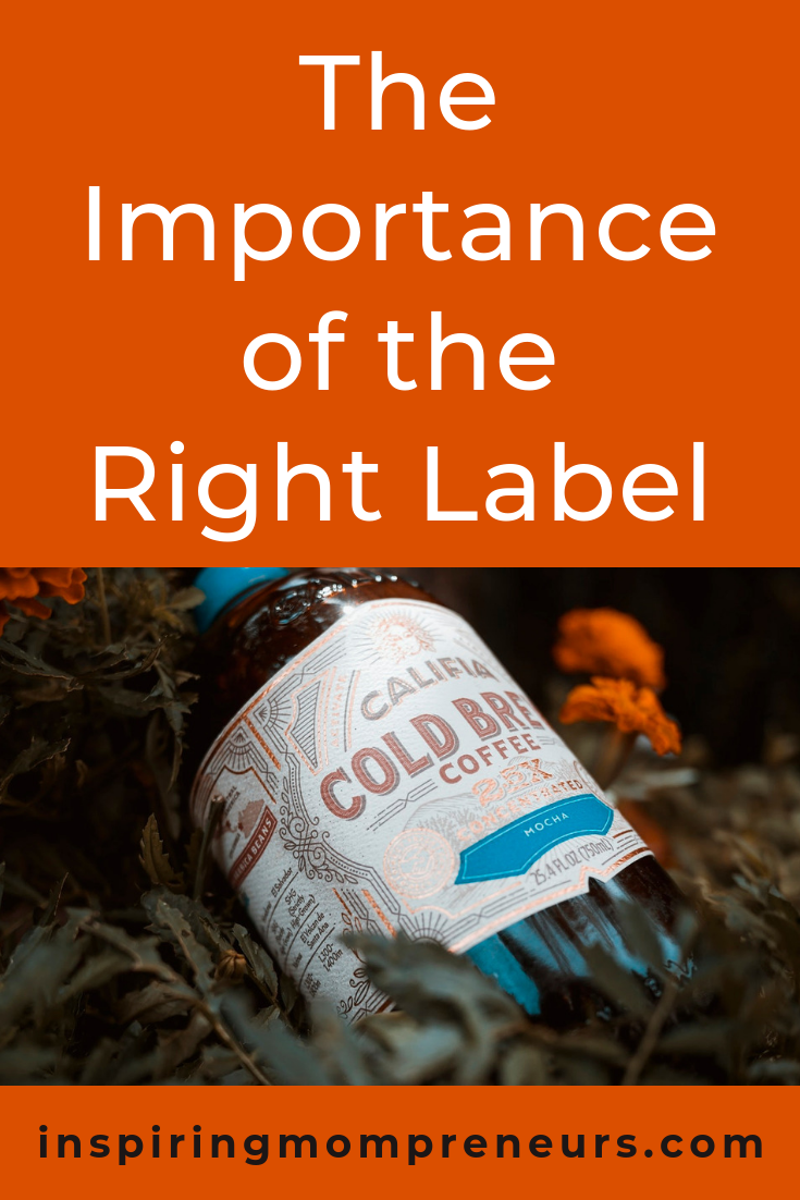 You've created the perfect product, now it's time to create the perfect label so you can bring in those sales. #therightlabel #theimportanceoftherightlabel #branding