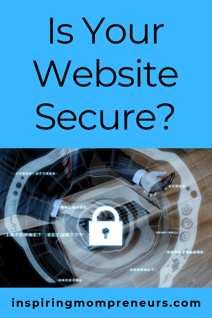 How Secure is Your Website? Which measures do you have in place to protect your website and your customers? #ismywebsitesecure #websitesecurity #onlinesecurity