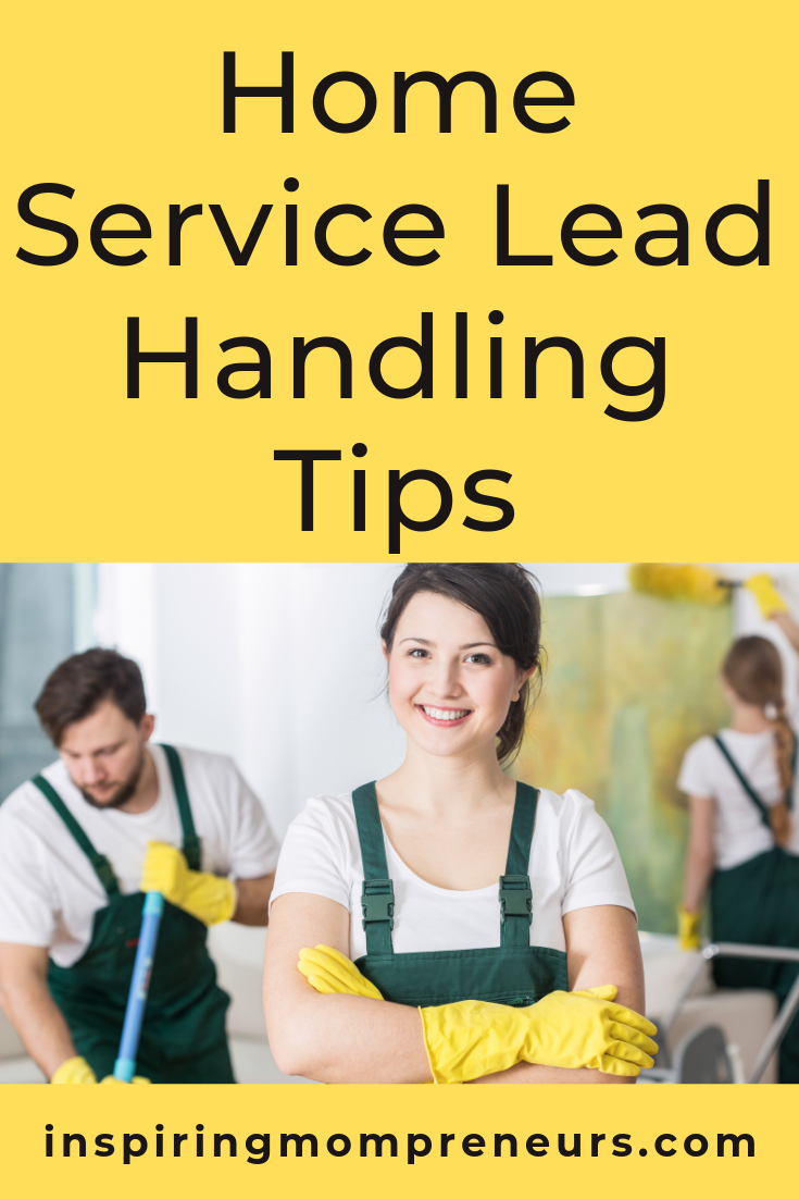 Do sales come naturally to you or is it something you've had to work on or outsource? Here's a quick crash course in lead handling. #homeserviceleadhandlingtips #salestips #leadmanagement #pronexis #sponsoredpost
