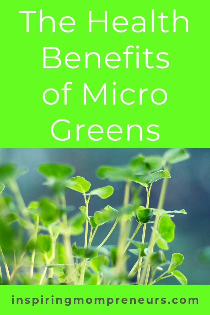 What are you doing to keep healthy? Here are 5 health benefits of growing and eating your own micro greens. #thehealthbenefitsofmicrogreens