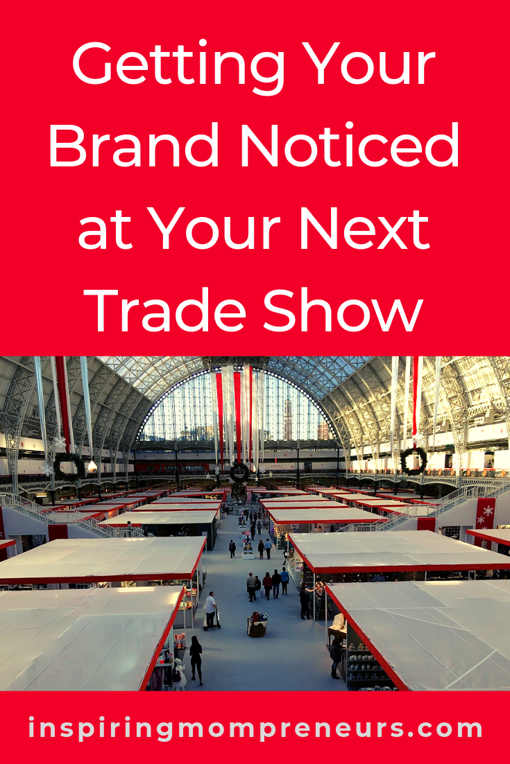Taking a stand at a trade show can be a costly affair. That's why you want to make sure your stand attracts attention. #gettingyourbrandnoticedatyournexttradeshow #branding #marketing #tradeshows