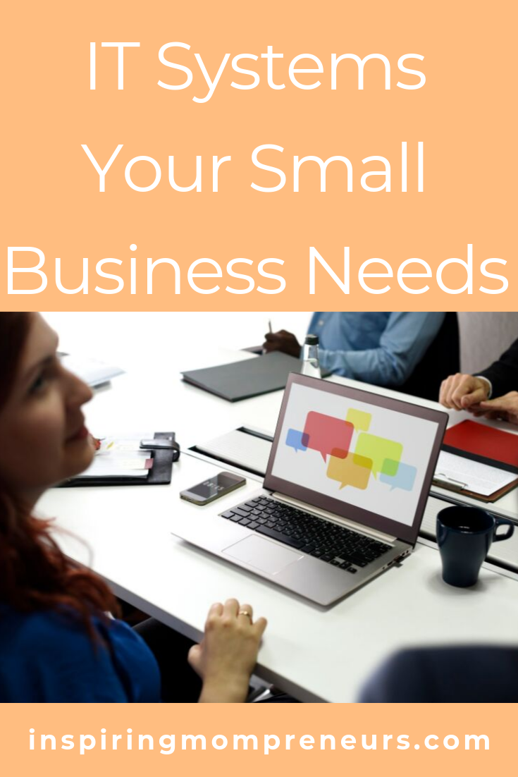 Which IT systems are indispensable in your small business? Do you use these 3?  #ITSystemsYourSmallBusinessNeeds #ITSolutions