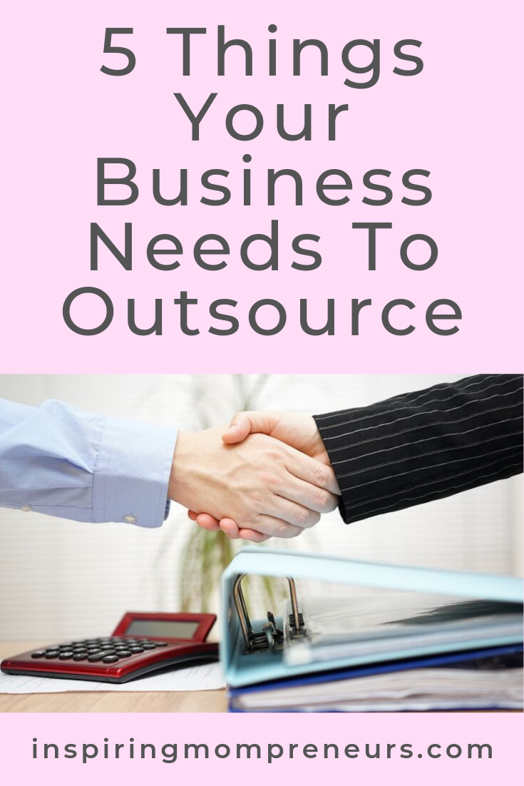 Realised going solo is just too much? Here are 5 things it would be wise to outsource. #thingsyourbusinessneedstooutsource #thingstooutsource #outsourcing #entrepreneurship