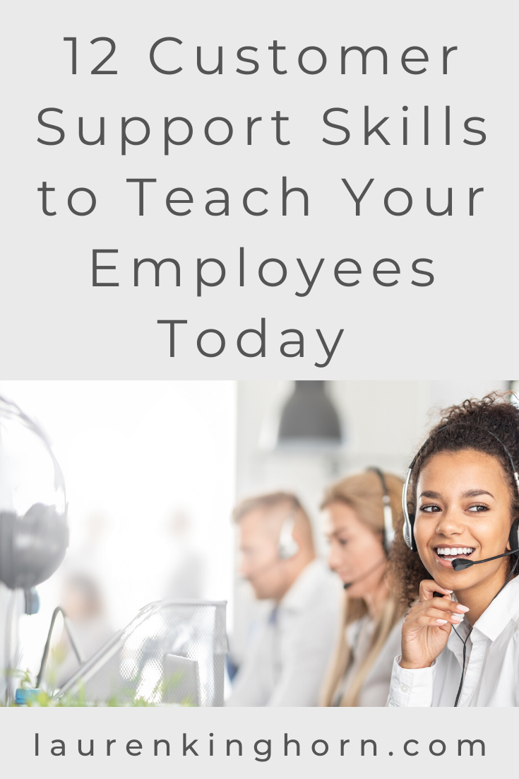 What kind of a reputation does your company have? Are you known for fantastic customer service? If  you feel there's room for improvement, you'll want to pop across to read this post. #12customersupportskills #customerservice #customerretention #clientservice