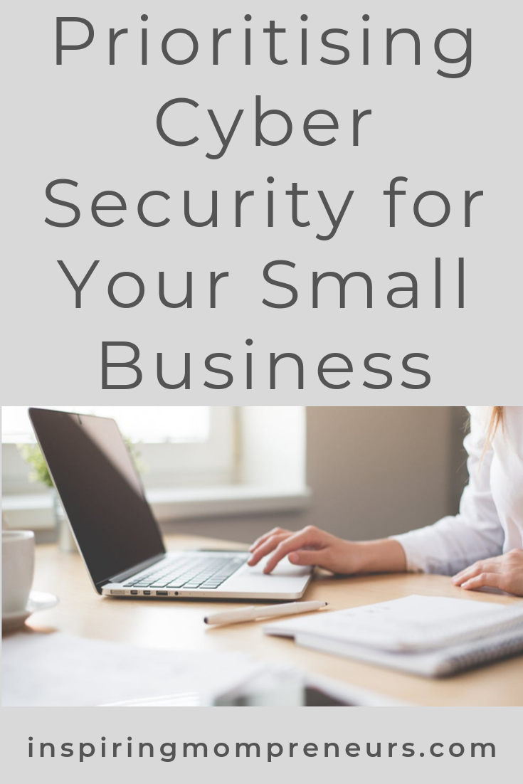 Are you prioritizing cyber security in your small business? Do you have these measures in place? #cybersecurityforasmallbusiness #businesstips #cybersecurity #onlinesecurity