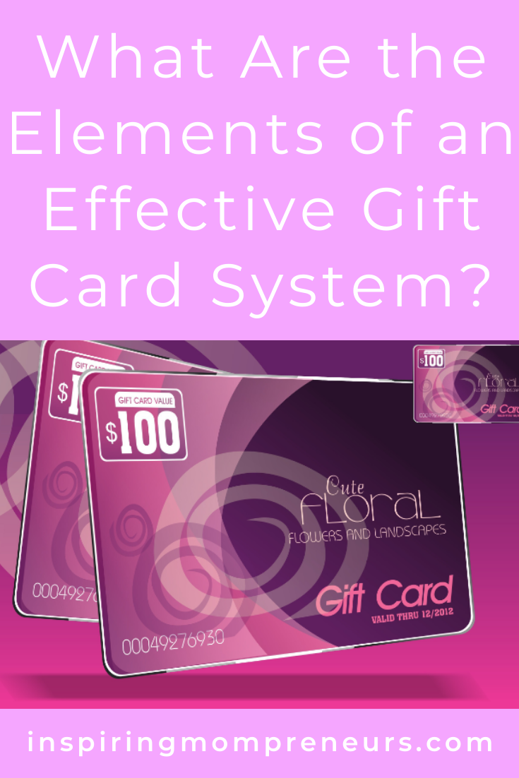 Have you considered implementing a gift card system? I highly recommend it, for any sized business. Get the lowdown in this post. #elementsofaneffectivegiftcardsystem #giftcardsystem #customerretention #marketing