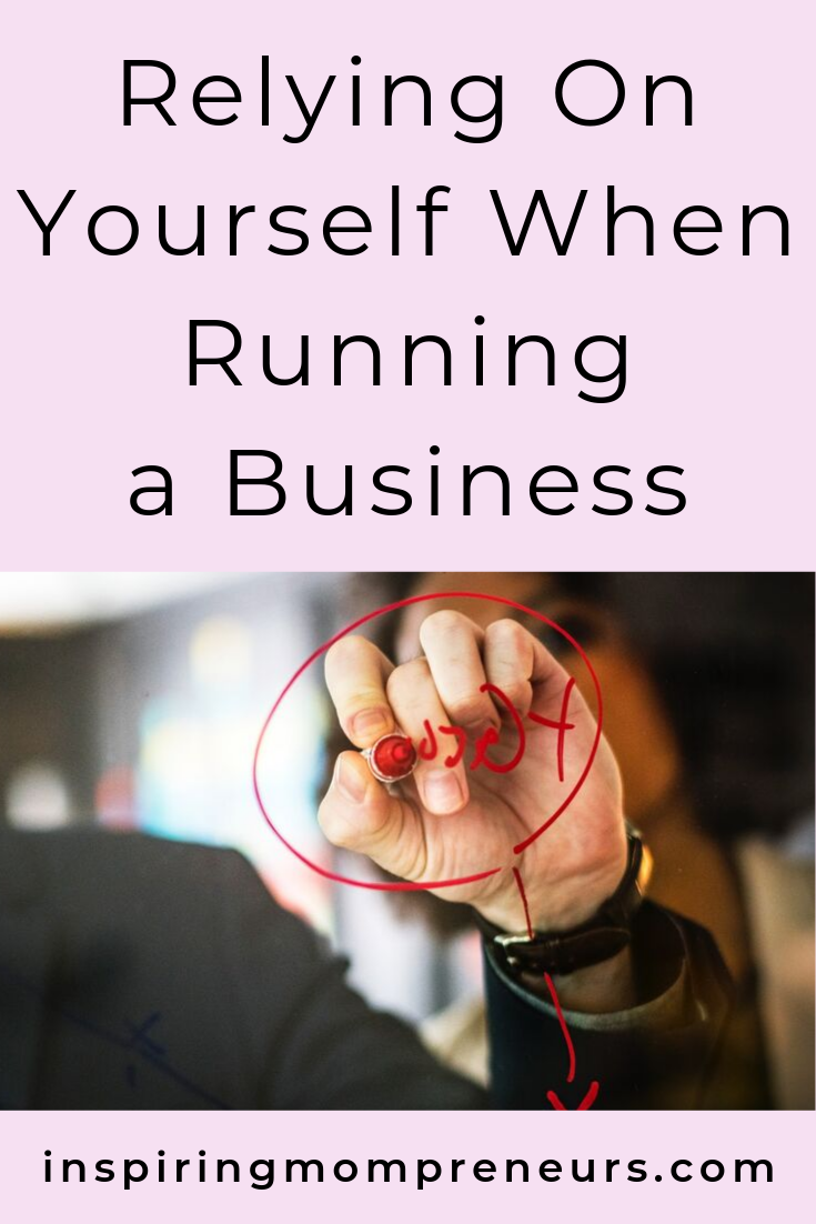 Who do you rely on to run your business? Are you still running yourself ragged trying to do it all yourself? Or do you have a team in place? #relyingonyourselftorunabusiness #entrepreneurship #businessleadership