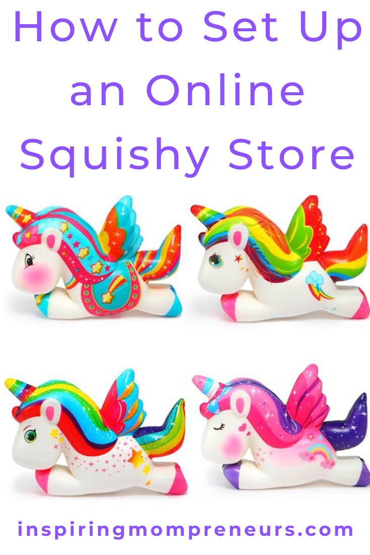Are you keen to make money out of the latest craze for kids? Here's how to set up an online squishy store. #Howto #SetupanOnlineSquishyStore #eCommerce #HomeIndustry #MakeYourOwnSquishies #ToyTrends