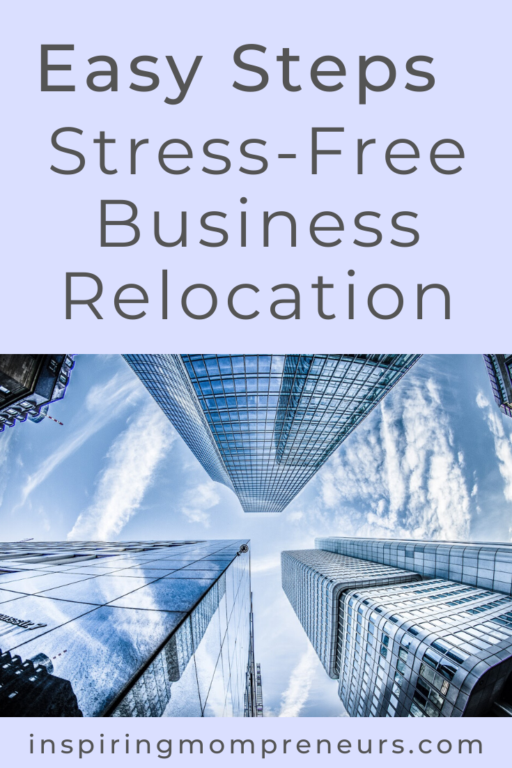 It is possible to relocate your business without experiencing astronomic levels of stress. Here's how. #stressfreebusinessrelocation #businesstips