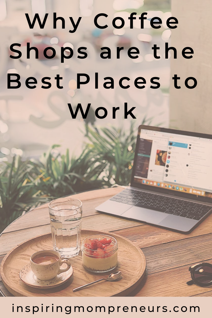 At least once or twice a week, I leave my home office and head out to a local coffee shop to work. Is this a trend you've adopted?  #whycoffeeshopsarethebestplacestowork