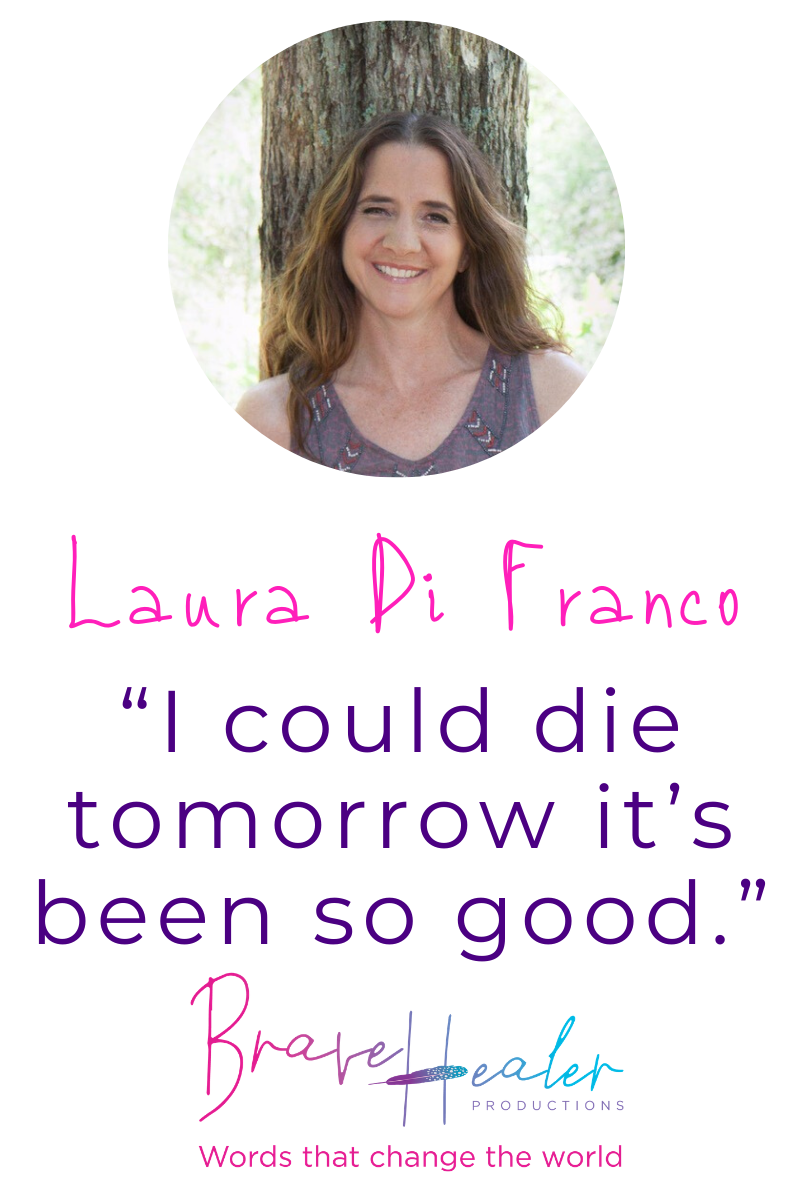 Don't miss this inspirational interview with Laura Di Franco, Author of 8 books, including 4 Amazon Best Sellers, the Owner of Brave Healer Productions, Inspirational Speaker, Podcaster, Tae Kwon Do Black Belt and Mom of two. #AmazonBestSellers #authorinterview #inspiration #InspiringMompreneurs #BraveHealer #inspirationalwords #bravery