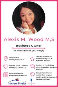 Meet Alexis Wood.