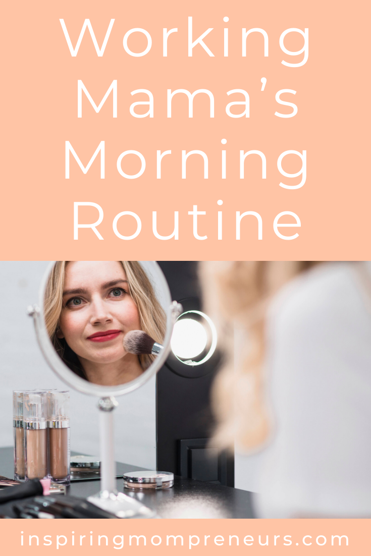 What's your morning routine like, Mama? Helen Bradford is back with some awesome tips to help you get things done in a hurry. #workingmomsmorningroutine #timesavingtips #morningroutine #morningcoffee
