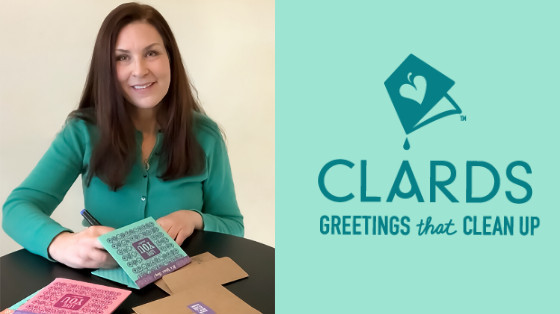 Meet the Inventor of CLARDS Reusable Greeting Cards