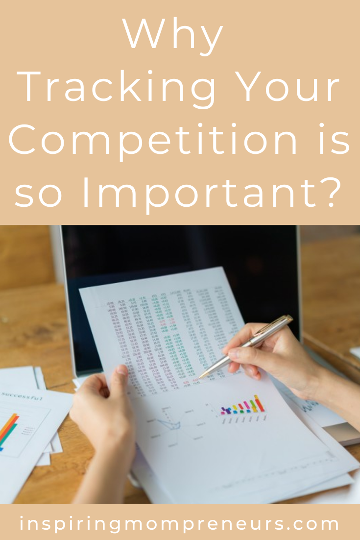 Are you tracking the competition? Here's why competition monitoring is so vitally important to your business success. #trackingthecompetition #competitionmonitoring