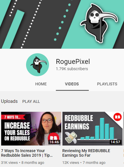 RoguePixel on YouTube