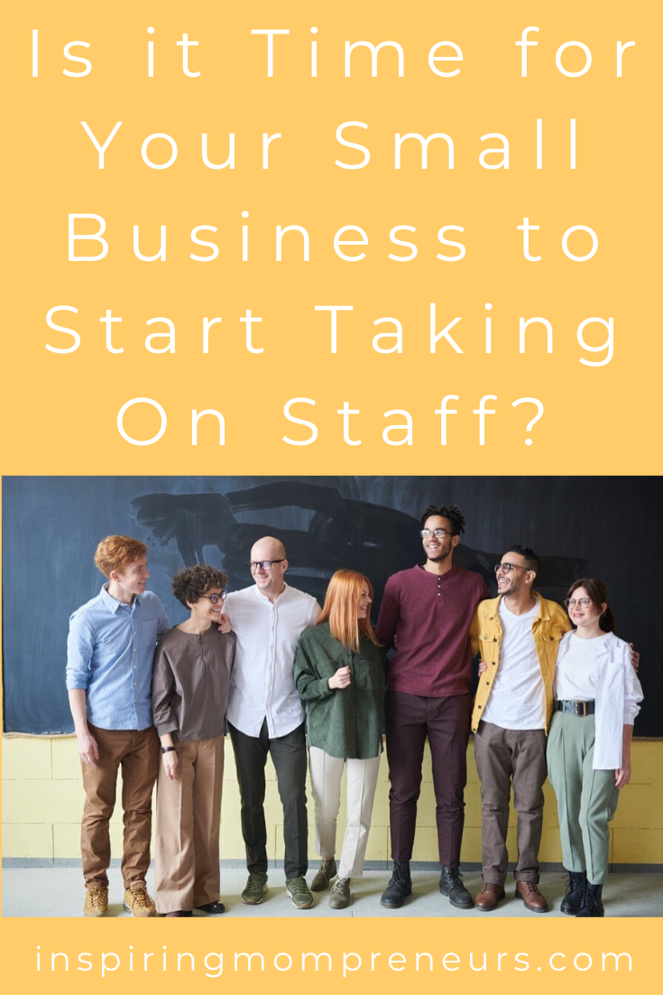 Is it time for your small business to start taking on staff? Here's a quick rundown of everything you need to know about the process. #staffemployment #staffrecruitment #differenttypesofstaff