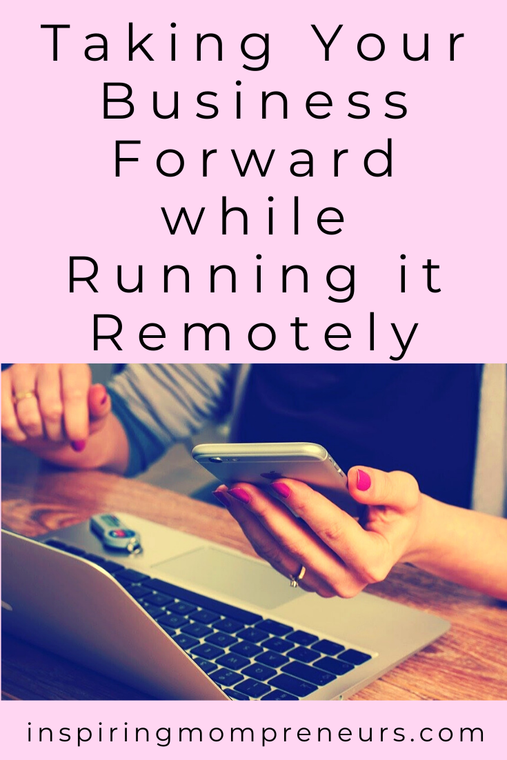 You set up a small, remote business rather recently, and didn't think it would grow so quickly. Now, how to keep up that forward momentum?