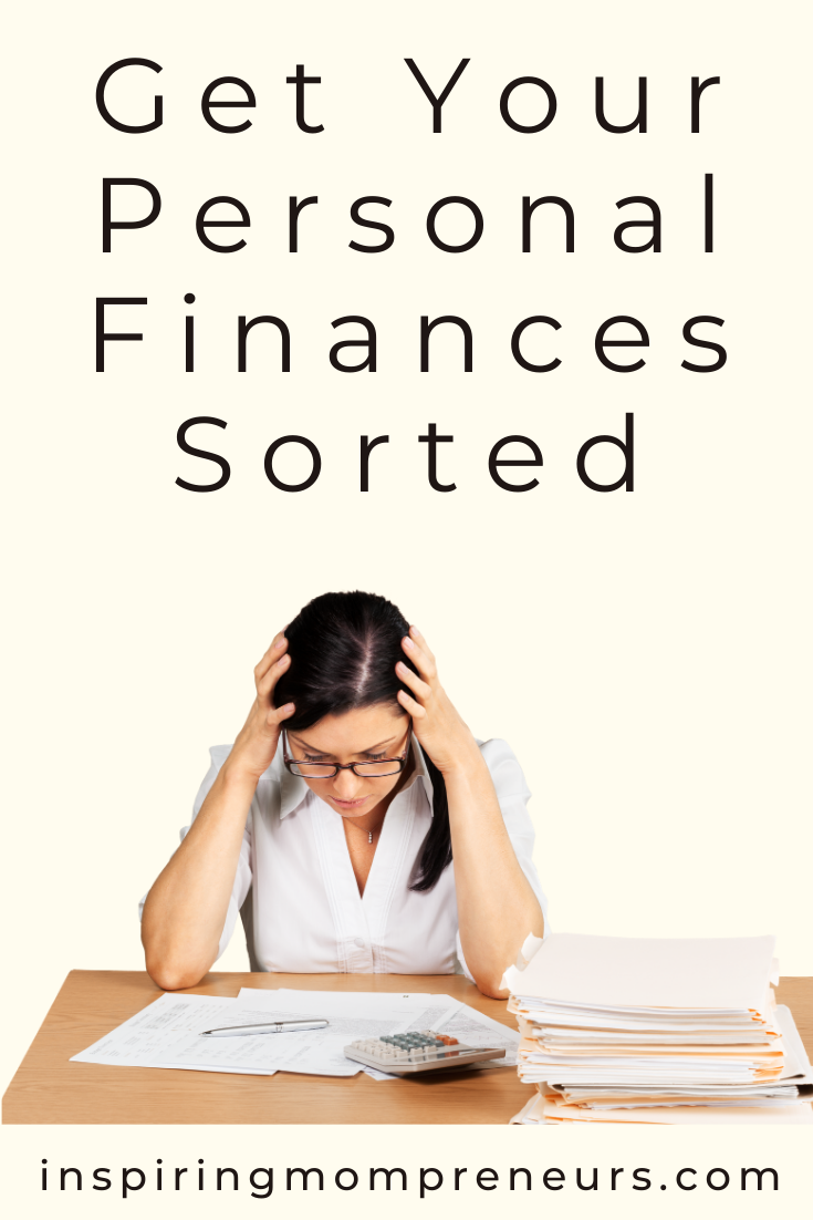 Are your personal finances in a shambles?   Try this useful 5-step program to get your finances sorted.   #getyourpersonalfinancessorted #sponsoredpost #polkpartners #budgeting
