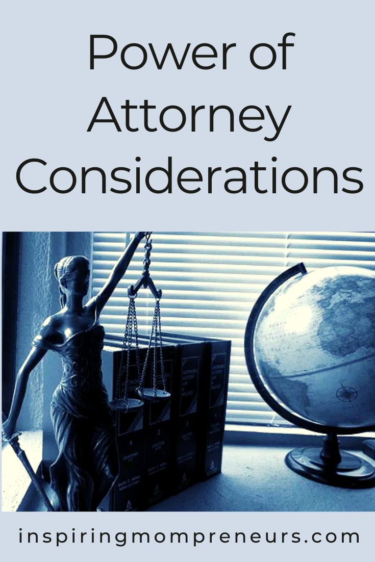 Are you thinking of registering a lasting power of attorney? Here are some important considerations to keep in mind.  #powerofattorney #lastingpowerofattorney #LPA