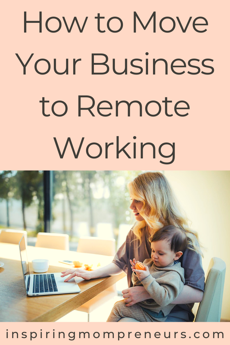 Here are some ways you can move yourself and your employees to remote working, allowing you to reap the benefits both personally and for your business. #howto #remoteworking