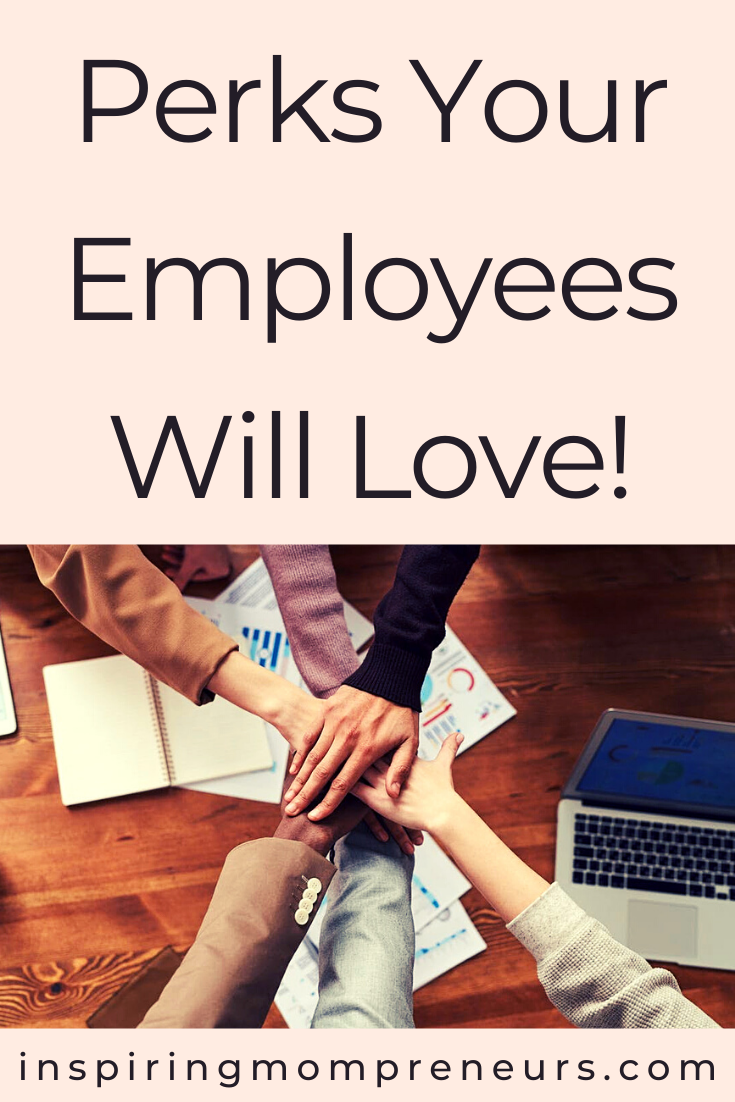 There is a big link between the productivity of your employees and their wellbeing, which is a good reason to offer perks they will enjoy. Here are some perks your employees will love.  #employeeperks