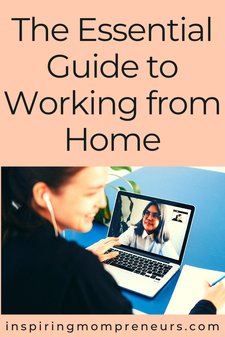 If you are working from home a little more often than usual, take a look at this essential guide to help your business continue to thrive. #essentialguide #workingfromhome #workfromhometips