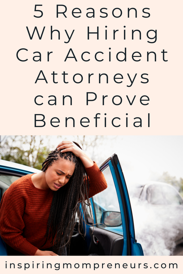 Should you call an experienced personal injury lawyer after a car accident.? Yes. Here are 5 clear benefits of hiring car accident attorneys. #caraccidentattorneys #legalhelp #personalinjurylawyers
