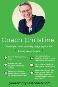 Meet Christine, Your Empty Nest Coach