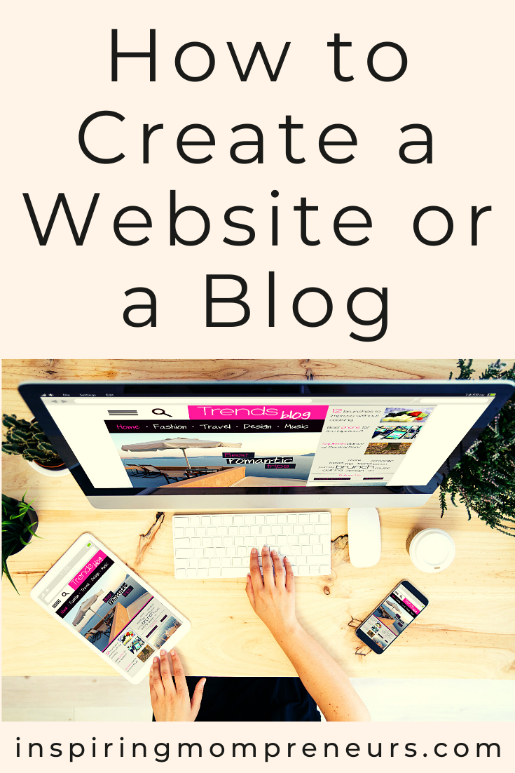 As an entrepreneur, you quickly discover you need a website or a blog to attract customers.  Here's the difference between a website and a blog and how to create a website or blog.  #howto #createawebisteorablog #onlinemarketing