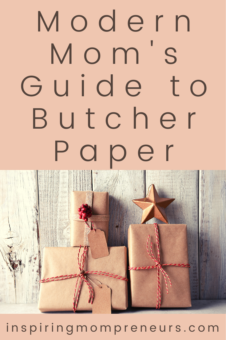 Don't you just love when you find a new multipurpose household object that's useful, versatile and fun to use - introducing Butcher Paper and it's many uses. #butcherpaperuses #kraftpaper