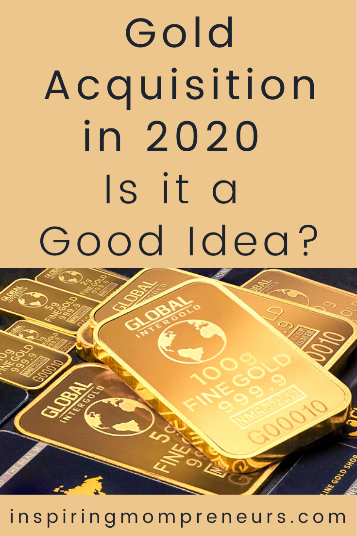 Feeling uncertain about your investments in 2020? If you are looking to redistribute your wealth, here are a few reasons why buying gold at the moment is a very good idea.  #goldacquisition #buyinggold