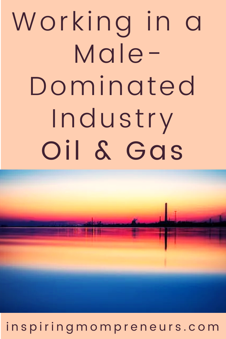 More and more women are becoming open to the idea of working in industries they would never have considered before because they deemed them to be for men only.  Are you working in Oil and Gas?  Was it difficult to break into the industry?  #workinginamaledominatedindustry #oilandgas